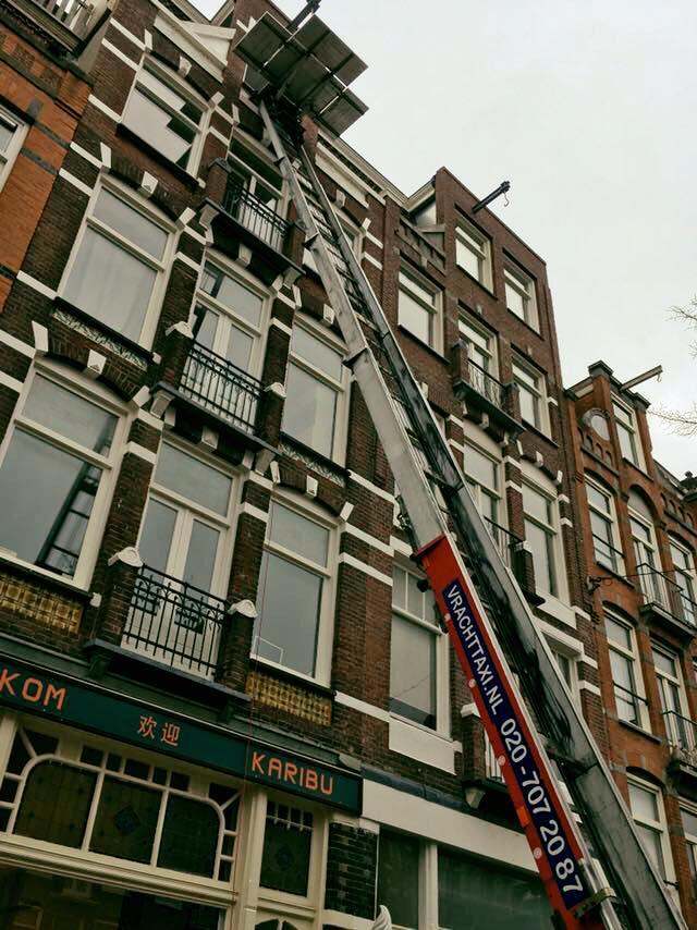 ontruiming woning amsterdam