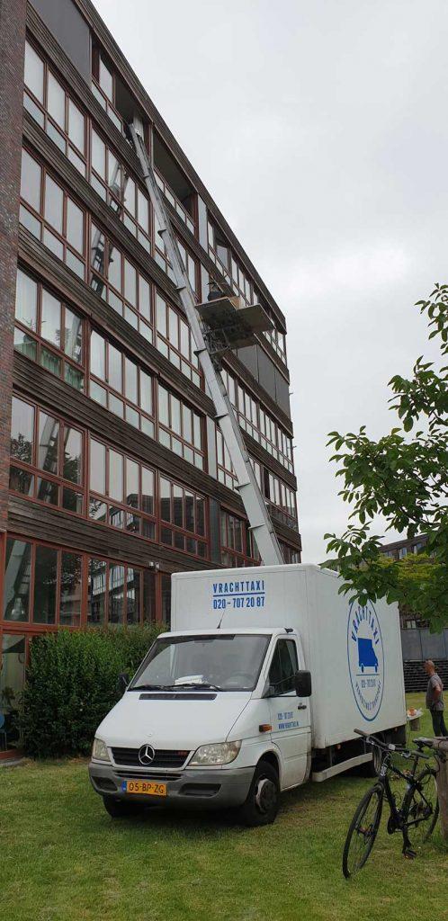 Verhuizen Amsterdam Vrachttaxi